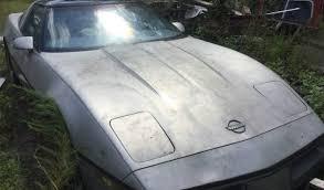 corvette junkyard california junkyard rescue 1985 chevy corvette