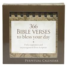 bible verse gifts 366 bible verses to bless your day perpetual calendar
