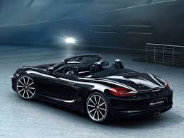 black porsche convertible 2016 porsche 911 carrera and boxster black editions unveiled
