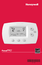 honeywell thermostat th6220d user guide manualsonline com