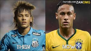 10 footballers hairstyles then u0026 now ft messi ronaldo