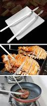 1 set stainless steel bbq knife fork barbecue camping baking