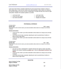 Fonts To Use For Resumes Resume Acceptable Resume Fonts