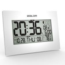 Modern Desk Calendar by Baldr Stylish Modern Office Tabletop Clock Wwvb Atomic Pmce Time