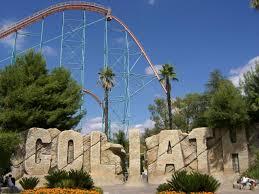 Six Flags X2 Achterbahn Goliath