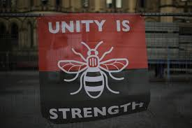 the symbol why is the bee a symbol of manchester and why did grande
