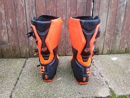 size 8 motocross boots fox comp 8 motocross boots in troon south ayrshire gumtree