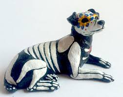american pitbull terrier figurines jack russel terrier etsy