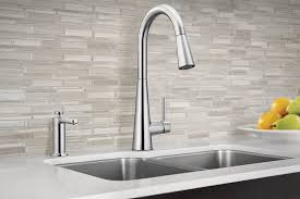 Moen Level Kitchen Faucet by Sleek Pulldown Kitchen Faucet Takes Modern Design To The Next