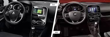 renault interior renault clio facelift old vs new compared carwow