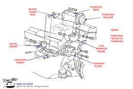 keen corvette c3 corvette ac compressor parts parts accessories for corvettes