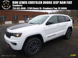 rhino jeep grand cherokee trailhawk 2017 bright white jeep grand cherokee trailhawk 4x4 117291143