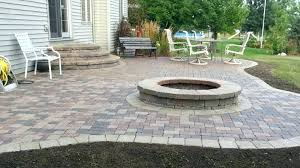 Brick Paver Patio Cost Cost Of Patio Pavers Designs And Patterns For A Brick Paver Patio