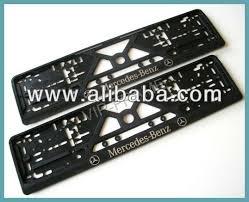 mercedes license plate holder mercedes european uk license number plate frame surround