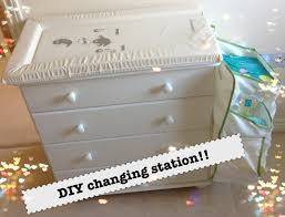 How To Make A Baby Changing Table Sneak Peek At The Nursery Diy Changing Table