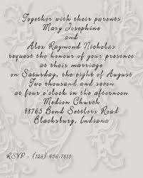 what to put on a wedding invitation free wedding invitation wording wedding ideas magazine