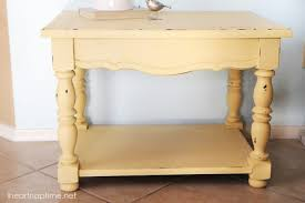 How To Make End Tables With Drawers by How To Make Chalk Paint Pictured Tutorial