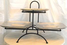 tiered serving stand 3 tiered square cake stands wrought iron stand 3 tier wrought