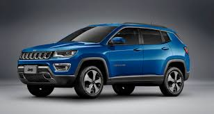 matte blue jeep jeep presents the new compass in brazil motorchase