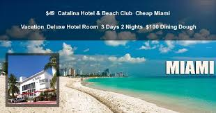 cheap miami vacation at hotel club from 49 deal