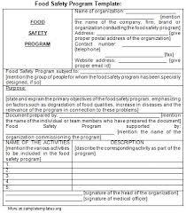 safety plan samples