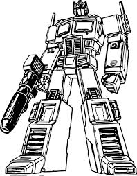transformers cartoon coloring page wecoloringpage