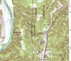 missouri caves map caves and karst in and around rolla