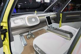volkswagen microbus 2017 interior volkswagen microbus based on i d buzz concept gets green light