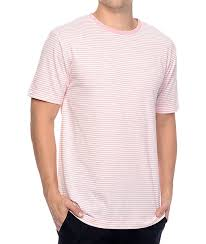 light pink t shirt mens zine hart light pink white stripe t shirt 264758 men s fashion