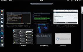 gnome shell u2013 linux rig
