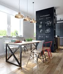 to your dining room check out this amazing industrial dining room