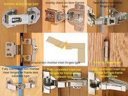 hidden hinges for cabinet doors cabinet hinge types best cabinets decoration