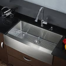 black deck mount kitchen sink and faucet sets single handle pull