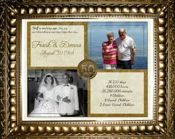 50 wedding anniversary gifts 50th wedding anniversary gift b25 in images gallery m94 with