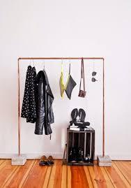 diy clothing storage small space solution 15 diy garment racks brit co