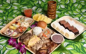 hawaiian luau party luau menu hawaii menu luau party food honolulu germaine s luau