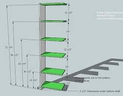 free bookcase plans simple plans diy free download how to make a