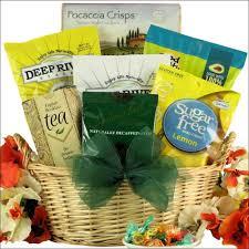 healthy gift baskets sugar free healthy gift basket gourmet snacks coffee tea