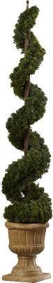 astoria grand cedar spiral tree in urn reviews wayfair