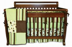 Green And Brown Crib Bedding by Creating A Modern Baby Nursery Around Sage Green And Chocolate