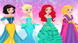 Ariel Clothes For Toddlers Disney Modern Princess Prom Dress Elsa Ariel Rapunzel Anna