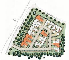site plan rendering available units the cottages on providence