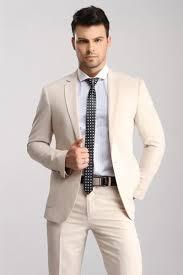 veste mariage décontracté chic 2016 beige mens s 3 psc epoux costumes de mariage