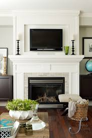 How To Install Gas Logs In Existing Fireplace by Best 25 Gas Fireplace Mantel Ideas On Pinterest White Fireplace