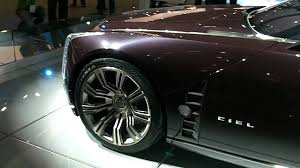 2015 Cadillac Elmiraj Price Cadillac Ciel Concept Drop Top Convertible With Doors