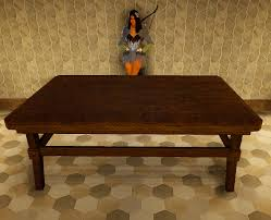 bdo fashion heidel handcrafted dining table black desert online