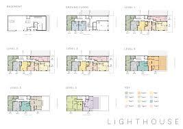 Lighthouse Floor Plans by Floor Plans U2014 Lighthouse Boutique Auckland Apartments For Sale