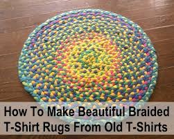 Making Braided Rugs How To Make Beautiful Braided T Shirt Rugs For Nothing