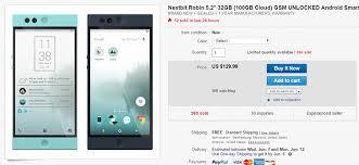 deal alert get a nextbit robin for 129 99 on ebay