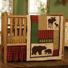 Plaid Crib Bedding Trend Lab Northwood S 3 Crib Bedding Set Reviews Wayfair